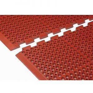 vinyl mesh mats Heavy Duty Interlocking Mat