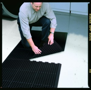Heavy Duty Interloking Mat - BLACK