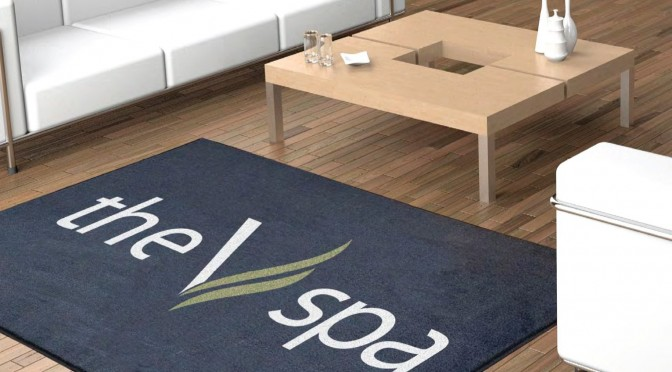 Custom logo carpet entrance mats